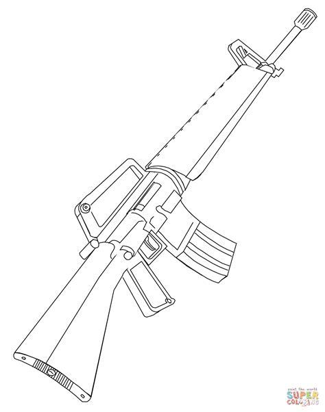 sniper gun coloring page sniper rifle drawing at getdrawings com free for