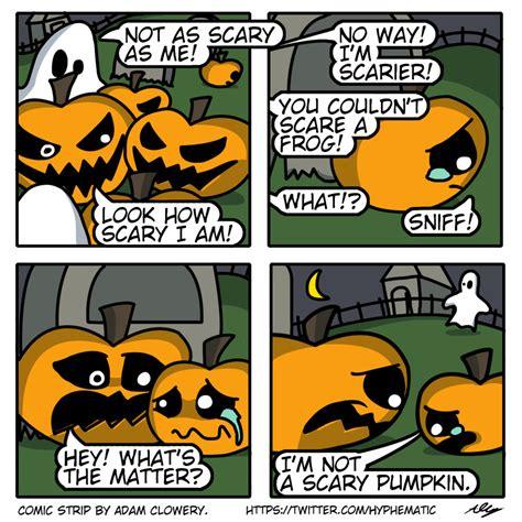 Imagenes Halloween Comicas | halloween comic strip 1 the little pumpkin by adam