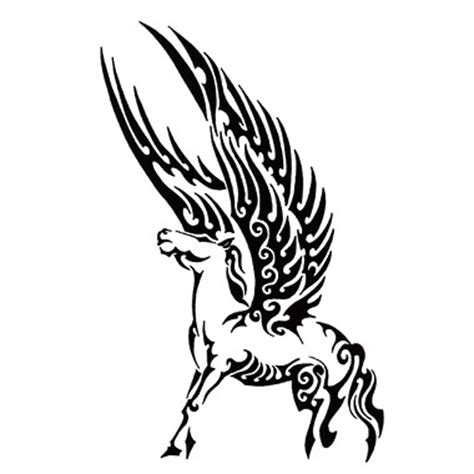 maori pegasus tattoo here my tattoo