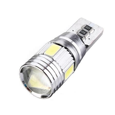 194 Led Light Bulb 10x T10 501 194 W5w 5630 Led Smd Car Hid Canbus Error Free Wedge Light Bulb L Ebay