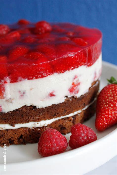 käse sahne kuchen himmlisch fruchtig frischk 228 se sahne torte mit erdbeeren