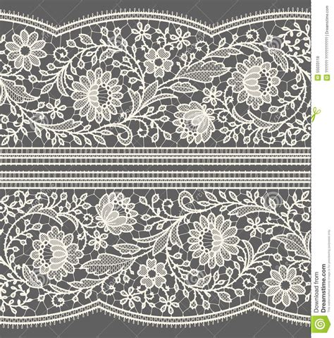 white lace pattern white lace seamless pattern stock vector image 55033118