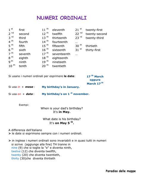 numeri in francese in lettere numeri in inglese