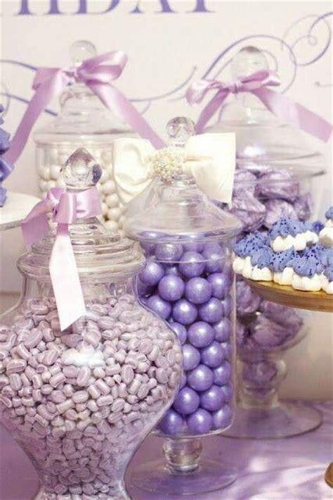 lavender candy buffet wedding buffet ideas pinterest