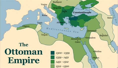 Ottoman Empires by Why Did The Ottoman Empire Fall Worldatlas