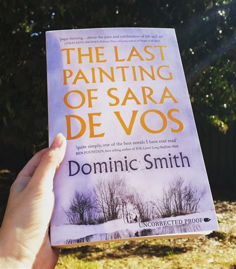 The Last Painting Of De Vos By Dominic Smith Large Print Edition lacking the last painting of de vos by dominic