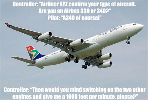 piso joke airbus a330 or a340 aviation humor