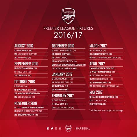 libro official arsenal 2016 calendar pradyumna reddy praddy19 twitter