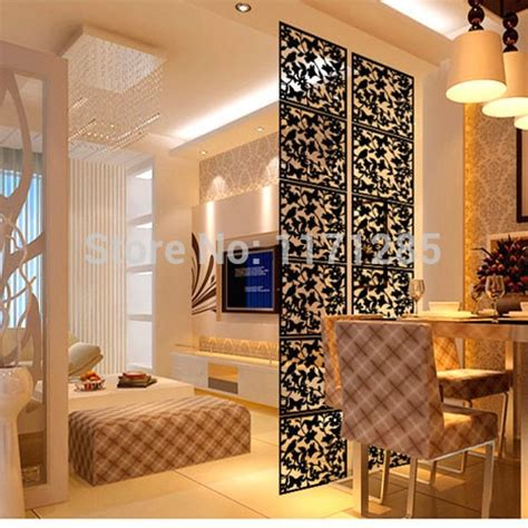 home interior wall hangings modern fashion contract birds hanging screen partition wall stickers room dividers hollowout