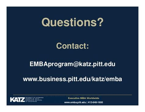 Pittsburgh Katz Mba Deadlines by Creating A Culture Of Entrepreneurship