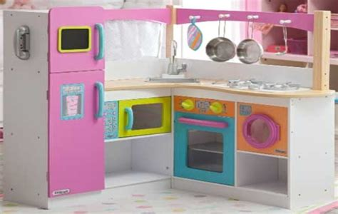 kidkraft grand gourmet corner kitchen play set 28 images