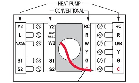 honeywell wireless thermostat wiring diagram line voltage