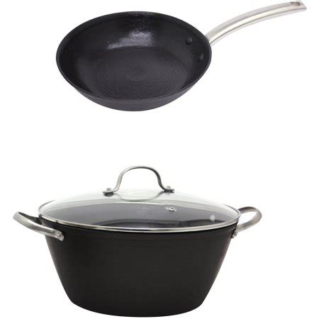 cast iron fry pan set starfrit light cast iron fry pan and dutch oven cookware