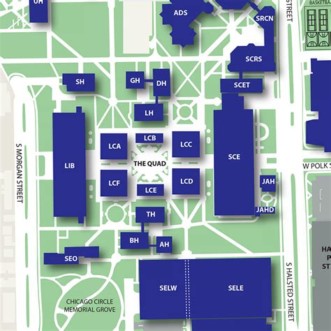 uic map visit directions