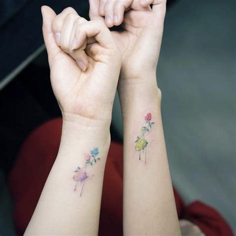tattoo your friend show 16 best friend tattoos to show off your squad love brit co