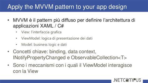 mvvm pattern là gì cert04 70 484 essentials of developing windows store apps