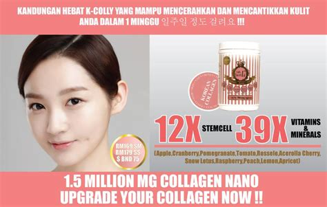 K Collagen daisy2u offer k colly sweet 17 korean collagen terbaik