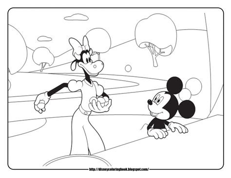 free printable coloring pages mickey mouse clubhouse mickey mouse clubhouse printable coloring pages coloring