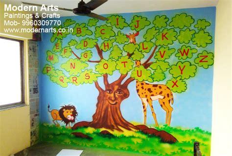 kids room wall paintings house painters  dubai kids