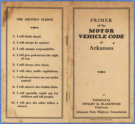 motor vehicle code arkansas motor vehicle code