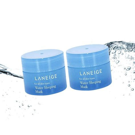 Laneige Water Sleeping Mask Di Korea laneige water sleeping mask 15ml 2pcs korea