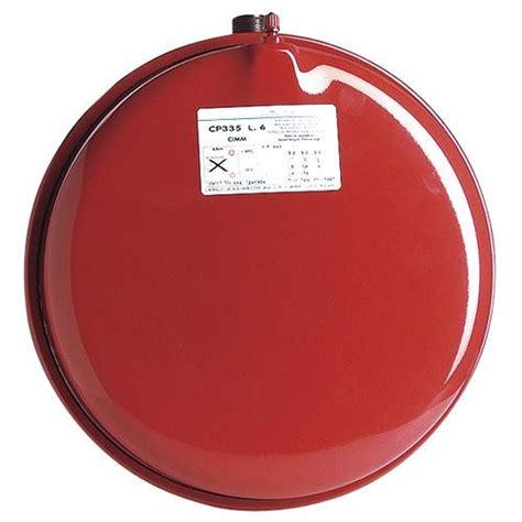 vase d expansion plat rond a membrane 10 litres slim