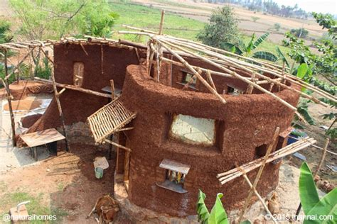who uses sh t to build a house building a cob kitchen step by step