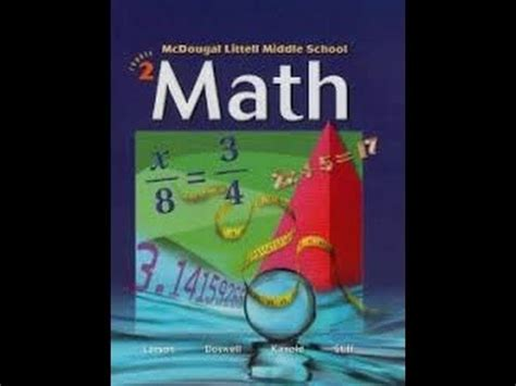 Pre Mba Math Books by Math Book Mcdougal Pre Algebra Course 2