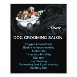 dog grooming flyers amp leaflets zazzle co uk