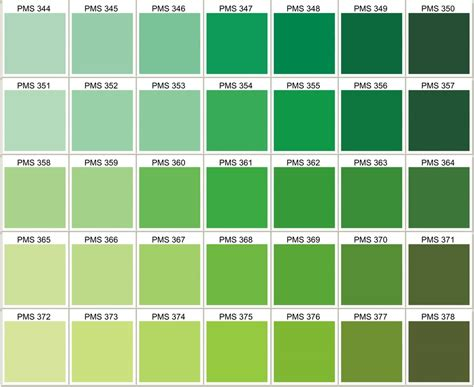 pantone color schemes pantone color various greens use 361 festive