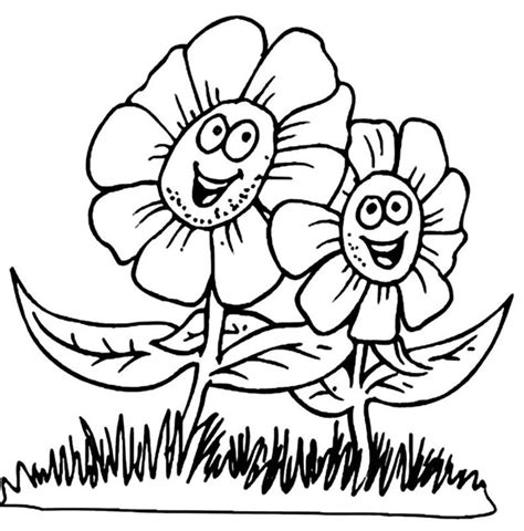 spring coloring pages for kids coloring lab