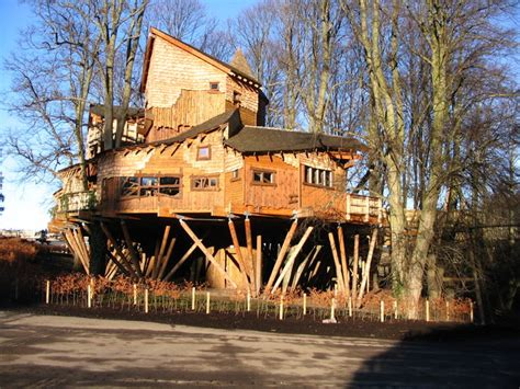 the treehouse at the entrance to alnwick 169 dave