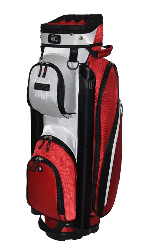 rj sports mens manhattan golf cart bags