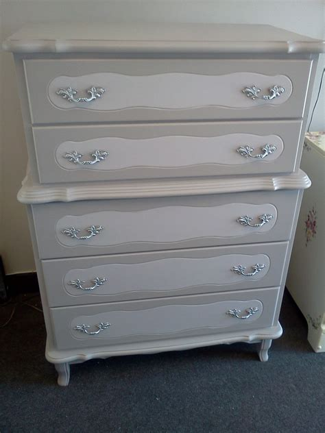 vintage painted french provincial shabby chic dresser