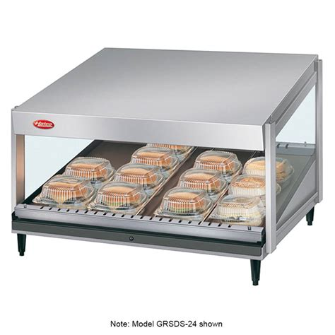 hatco grsds 36 36 quot self service countertop heated display