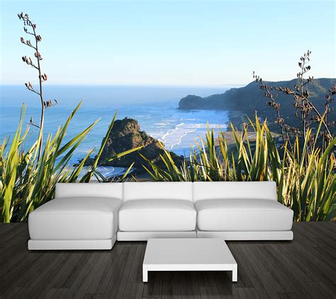 wall stickers murals piha wall mural your decal shop nz designer wall