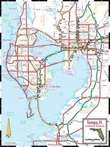 map of clearwater florida and surrounding areas ta st petersburg clearwater map
