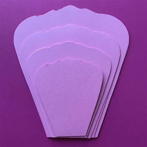 Pdf Paper Flower Template With Base Digital Version The Fleur Pinterest Fleur Papier Pdf Paper Flower Template