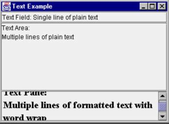 swing textarea javaskool com textarea1