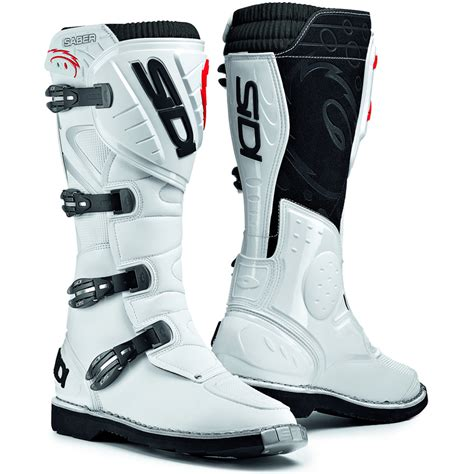 leather dirt bike boots sidi saber mx enduro off road steel toe motocross dirt