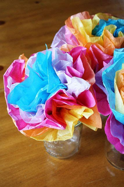 How To Make Mexican Flowers Out Of Tissue Paper - 78 best images about mexico for on