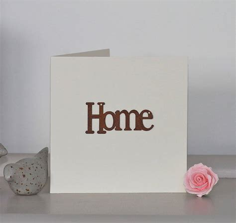 card for handmade new home card by chapel cards