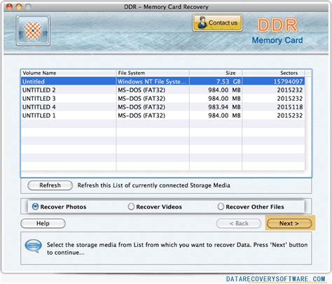 card program for mac mac data recovery software for memory cards data doctor