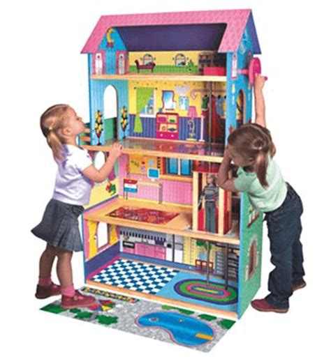 doll house with elevator first learning 174 large wooden dollhouse with elevator only 60 free shipping