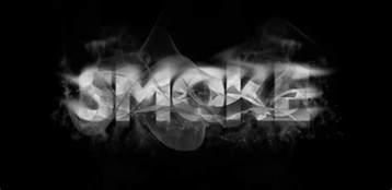 7 ways to create smoke text effect