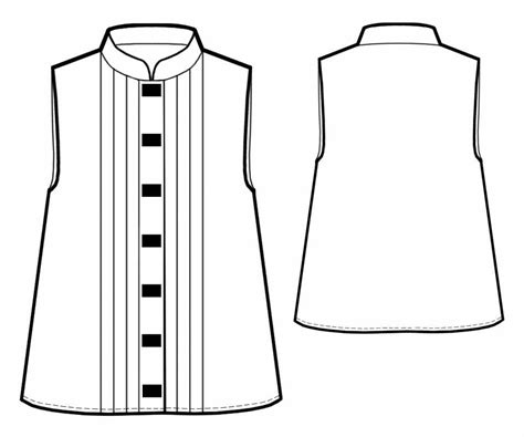 blouse sewing pattern 8004 made to measure sewing blouse with pleats sewing pattern 5766 made to measure