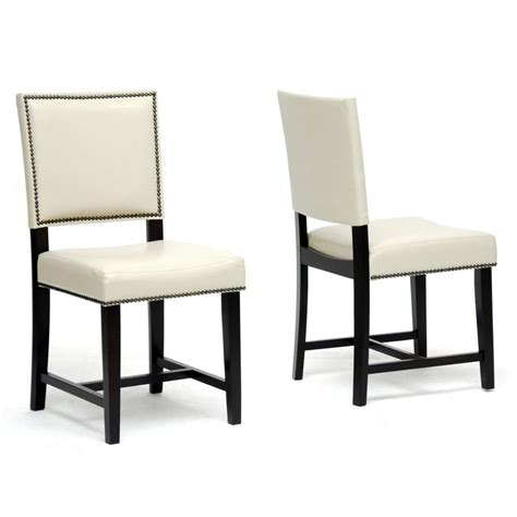 Furniture A White Or Chrome Or Black Dining Chair By Ciel Black And White Leather Dining Chairs
