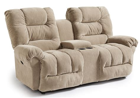 Casual Power Rocking Reclining Loveseat With Cupholder