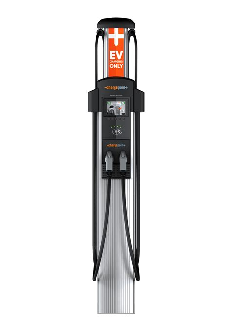 build your own ev charging station chargepoint ct4011 ev level 2 charging station single port