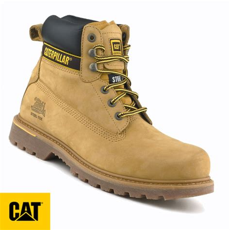 Caterpillar Solid Boots Safety caterpillar holton honey safety boot 7042